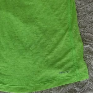Nike Tops - Nike New Neon dri-fit sheer tank